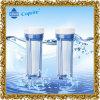 ' boîtier de crépine clair de l'eau 10 blanche