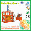 Machine Met motor van de diesel de Vaste Stationaire Hydraulische Baksteen van de Pers Concrete