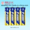 1.5V Farer Súper alcalina seco de la célula de la batería (LR6 AA, Am-3)
