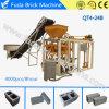 Mattone di collegamento del lastricatore del cemento semi automatico che fa macchinario