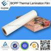 Film de laminage thermique BOPP brillant imprimable Film de laminage thermique BOPP chaud