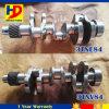 Eixo de manivela 3tne84/3tnv84 ajustado do motor Diesel da máquina escavadora
