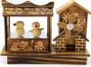 Belle boîte à musique fabriquée à la main en bois