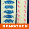 El precio de fábrica modifica para requisitos particulares alrededor de etiqueta engomada de epoxy los 3m clara auta-adhesivo