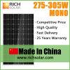 Mono панель солнечных батарей 290W для с электрической системы решетки солнечной