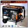 prezzo diesel del generatore del Aprire-Blocco per grafici raffreddato aria portatile a tre fasi 6kw
