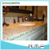 Tiger su ordinazione Skin White Granite Vanities per Bathroom Hotel