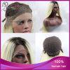 똑바른 Ombre Black 또는 Blonde 열 저항하는 Synthetic Lace Front Wig