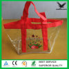Price basso Plastic Vinyl Tote Bags Soft EVA Bag con Handle