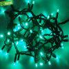 O feriado ilumina luzes de Natal feericamente das luzes da rede da corda do diodo emissor de luz