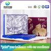 Коробка серого картона бумажная упаковывая для еды