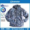 Теплая & Windproof куртка людей в пылающем печатание