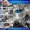 Disco abrasivo de la aleta del óxido de aluminio de la marca de fábrica de Xiehe que hace el fabricante de pulido del disco de la aleta de la máquina