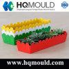 Moulage par injection en plastique de jardinage minimaliste de pot de fleur de QG