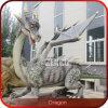 Drache-lebensgrosse Garten-Drachen