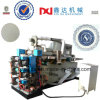 Máquina realzada equipo del práctico de costa de la taza de papel de tejido de la impresora de la cuenta automática