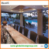 La Cina Imperial Gold Granite Bar Tops per Restaurant