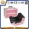 Caixa vermelha da vaidade do couro do crocodilo do PVC dos doces cor-de-rosa (HB-2052)