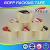 Cinta estupenda del claro BOPP de Hongsu para el embalaje