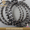 11.5mm Rubber Quarry Wire Saw para Granite