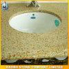 Естественный Countertop гранита G682 с керамической раковиной