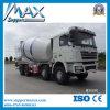 China Shancman 8X4 Left Righthand Drive Concrete Pump Mixer Truck