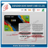 Scratch Card with PVC material 0.3mm