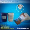 Silicone de borracha do elastómetro do projeto de molde para o molde da gipsita