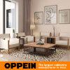 Mobilia di legno moderna dell'hotel del salone del PVC del grano del fornitore (OP16-HOTEL02)
