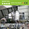 fibra de PET aplastamiento de la máquina de granulación con baja potencia