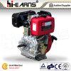 Motor diesel con el eje y el color rojo normal del filtro de aire (HR186F) de la chavetera