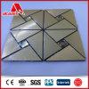 自己接着アルミニウム合成のモザイク・タイルの台所Backsplashの六角形パターン