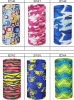 Mode Printed Tube Scarf Multifunctional Headwear avec Custom Logo