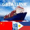 Transitário de Wuhan/Shanghai/Ningbo de China a Davao, Filipinas
