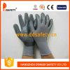 Серый нейлон с серым нитрилом Glove-Dnn424