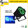 Club Wedding (HL-030)를 위한 24PCS 4in1 LED Wash PAR Light