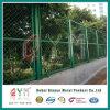 Загородка выпушки сада загородки провода звена цепи зеленой пластмассы в 5 ног Coated