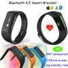 2016 il nuovo disegno IP67 impermeabilizza il braccialetto astuto di Bluetooth 4.0 con il video di frequenza cardiaca (V6)