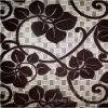 De bijeenkomende Stoffen van de Polyester van het Huis van het Fluweel Textiel Vastgebonden