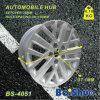 Nueva rueda de aluminio del borde de las ruedas de coche del diseño, piezas de la motocicleta