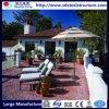 快適な生きている軽い鋼鉄プレハブの別荘の家