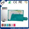 Carpeta del protector de la tarjeta de la identificación de RFID para de la tarjeta de crédito