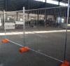 Panneau de clôture provisoire galvanisé Chaud-Plongé
