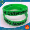 Concevoir le bracelet/Bracelets en fonction du client de Silicone avec Black Printing