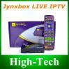 Jynxbox 살아있는 기드림 매체 IPTV 의 텔레비젼 수신기 덮개 WiFi