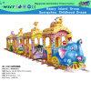 Trem pequeno luxuoso elétrico animal para o jogo dos miúdos (HD-10301)