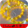 Luz de la cuerda de la decoración LED de la Navidad con el cable colorido