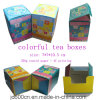 Art Paper Laminage brillant Offset Printing Tea Box