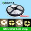 Tira 30LEDs/M 7.2W de 5050 diodos emissores de luz para a iluminação da decoração