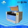 Gravador de gravação do laser do CO2 do CNC da estaca de Fmj 6090 quentes da venda para a gravura de madeira do presente